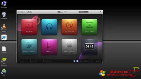 Skärmdump Free Studio för Windows 10