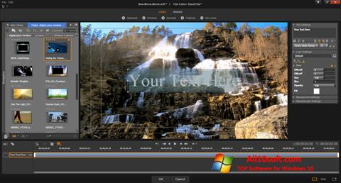 Skärmdump Pinnacle Studio för Windows 10